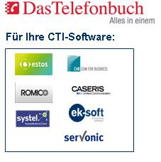 Das bundesweite Telefonbuch für Ihre Telefonanlage mit CTi Software - Local