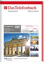 Das Telefonbuch DVD mit Rückwärtssuche - Intranetversion Herbst/Winter  2018
