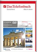 Das Telefonbuch DVD mit Rückwärtssuche - Intranetversion Frühjahr/Sommer 2019