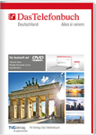 Das Telefonbuch DVD mit Rückwärtssuche - Intranetversion Frühjahr/Sommer 2018
